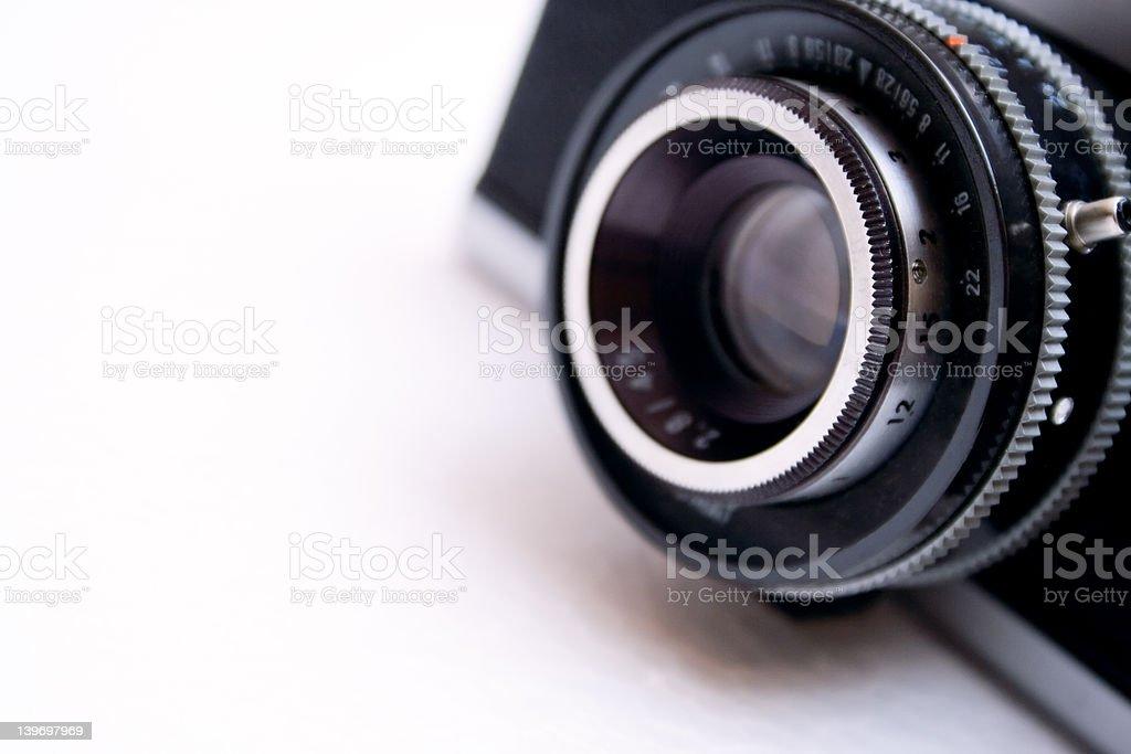 Vintage Camera Lens royalty-free stock photo