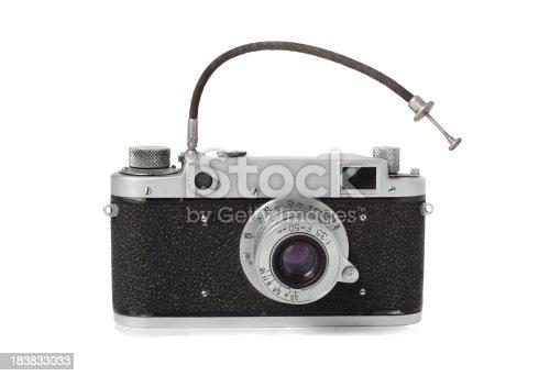 istock Vintage Camera 183833033