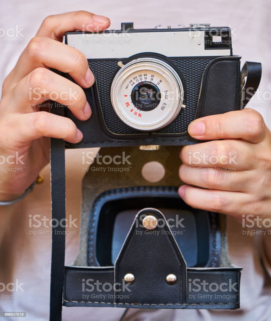 Vintage Camera royalty-free stock photo