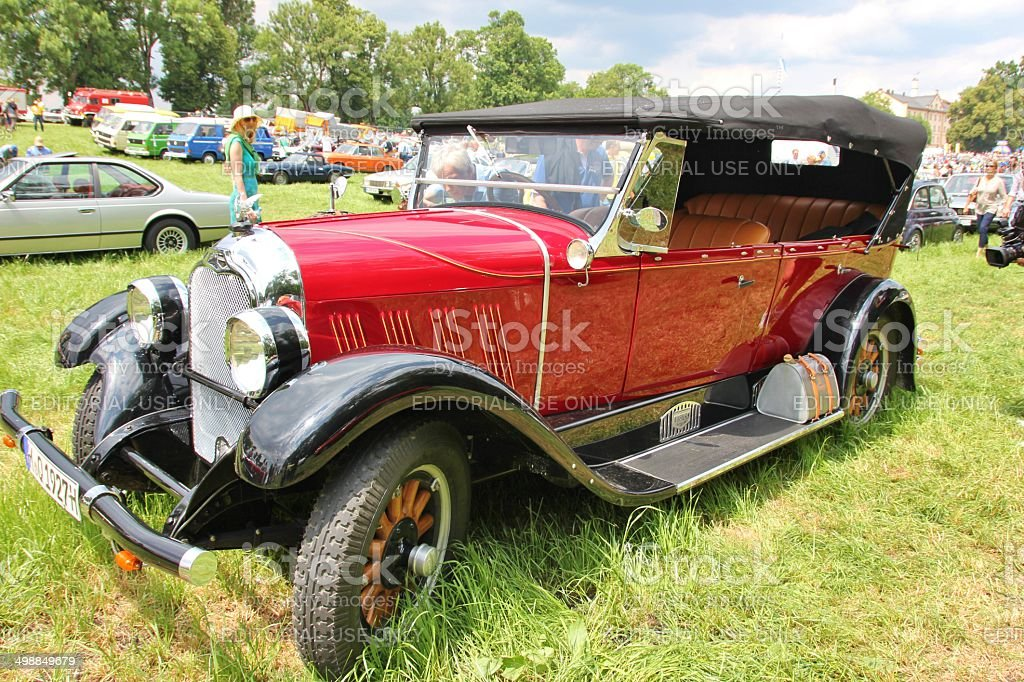 Vintage Car Auburn Stock Photo