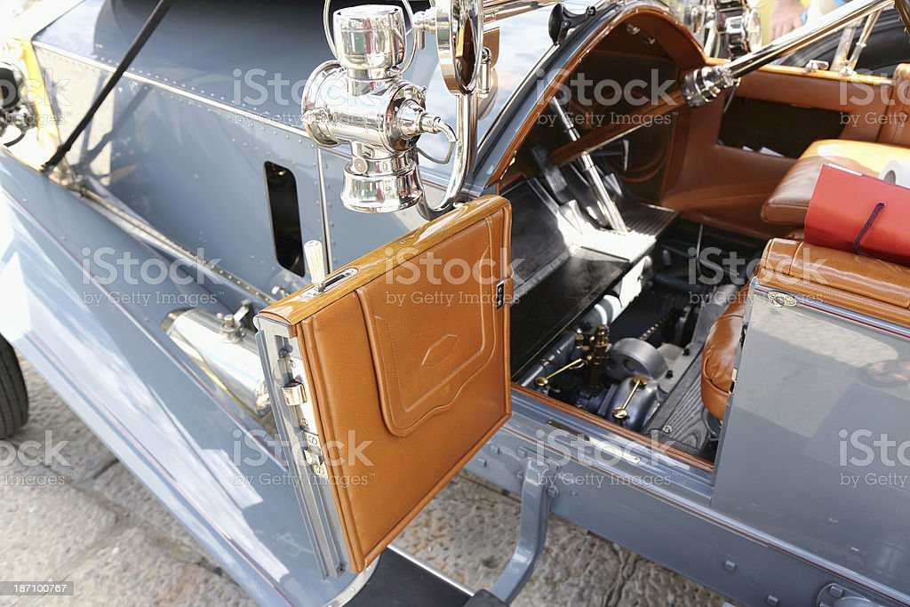Vintage car details royalty-free stock photo