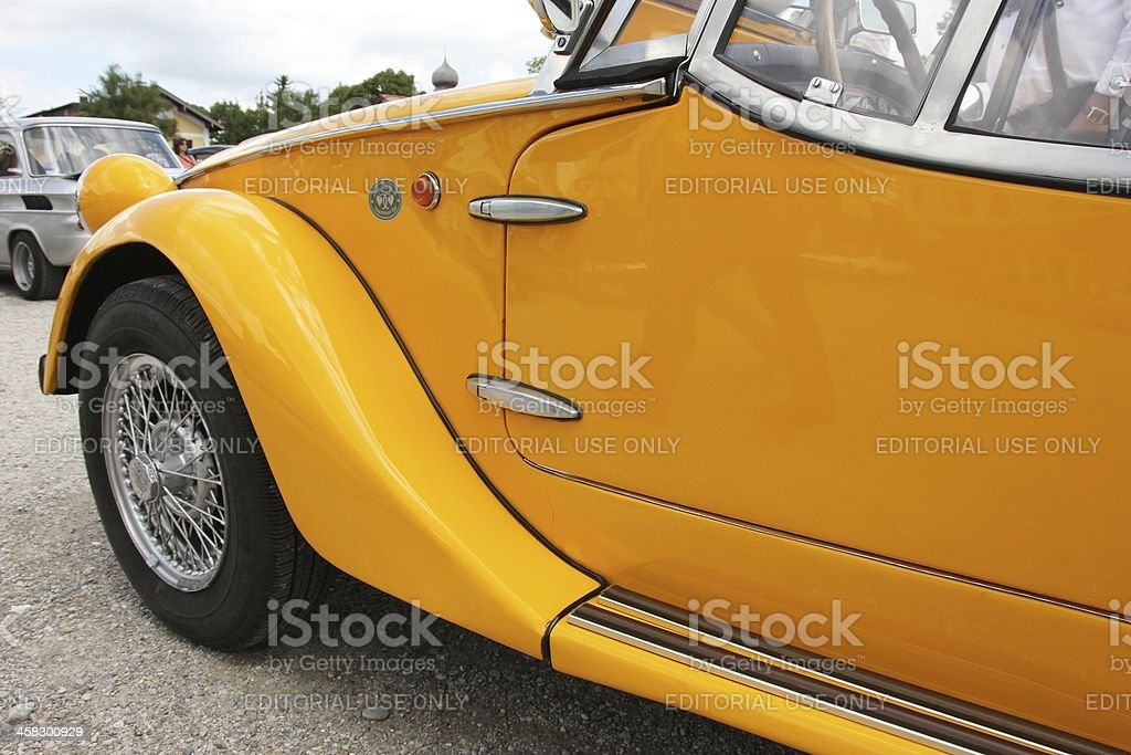 Vintage car Fiat 850 royalty-free stock photo