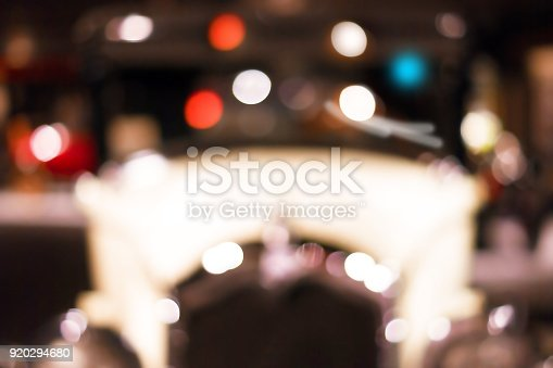 640042252 istock photo Vintage car in blurred motion. Abstract blurred lights 920294680