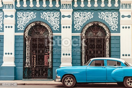 history, Cuba, Camagüey, car, church, tourism, city, old, architecture, colonial