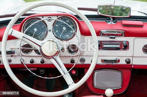 467735055 istock photo Vintage Car Interior 994600714