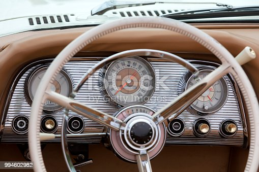 467735055 istock photo Vintage Car Interior 994602982