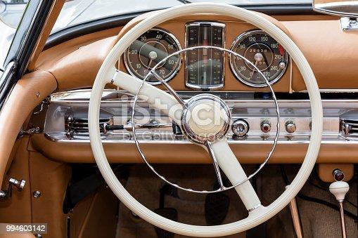 467735055 istock photo Vintage Car Interior 994603142