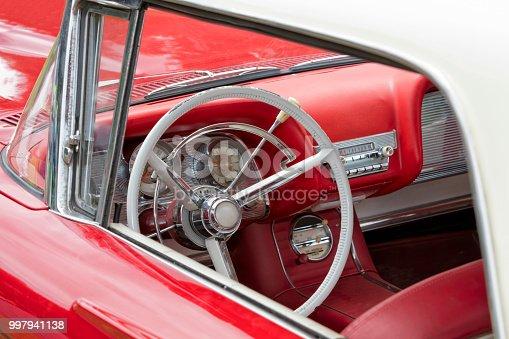 467735055 istock photo Vintage Car Interior 997941138