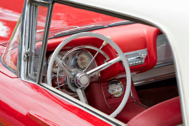 Vintage Car Interior Stock Photo More Pictures Of 1950 1959 Istock