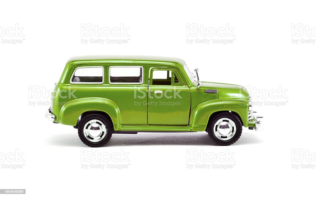 Vintage Car Isolated stock photo