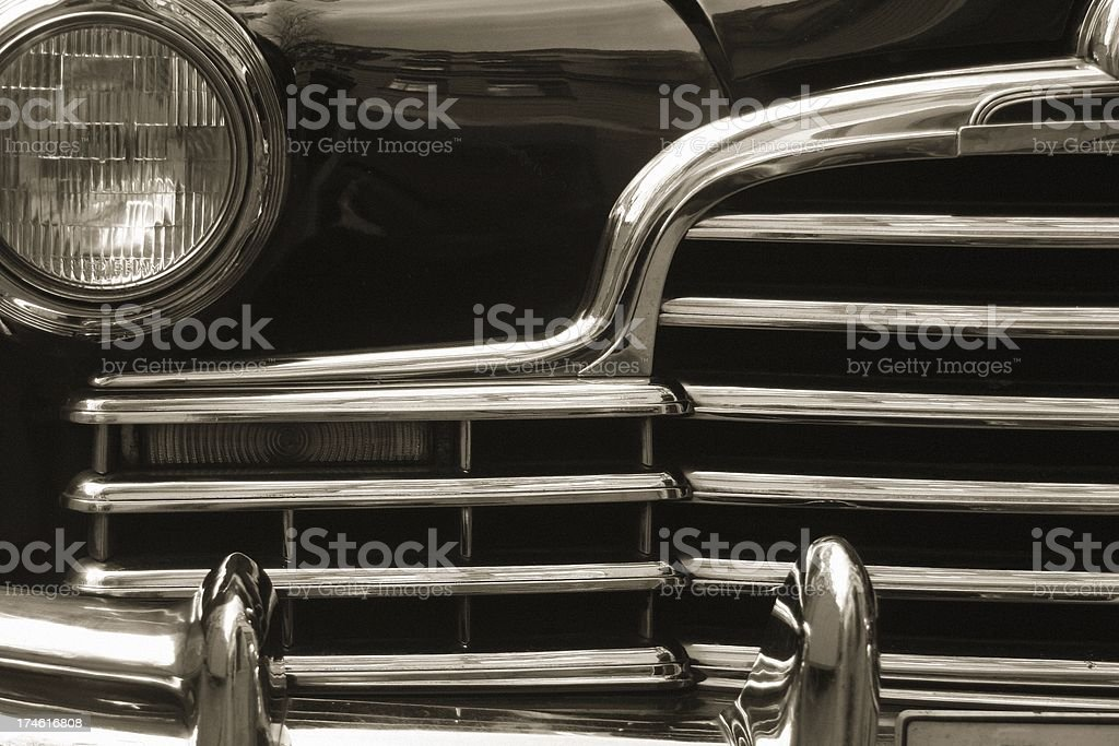 Vintage car IV - Detail. stock photo