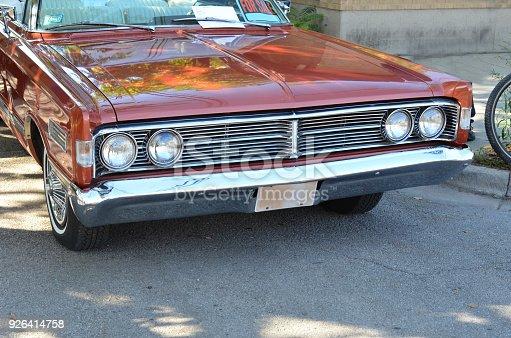 vintage car of American car