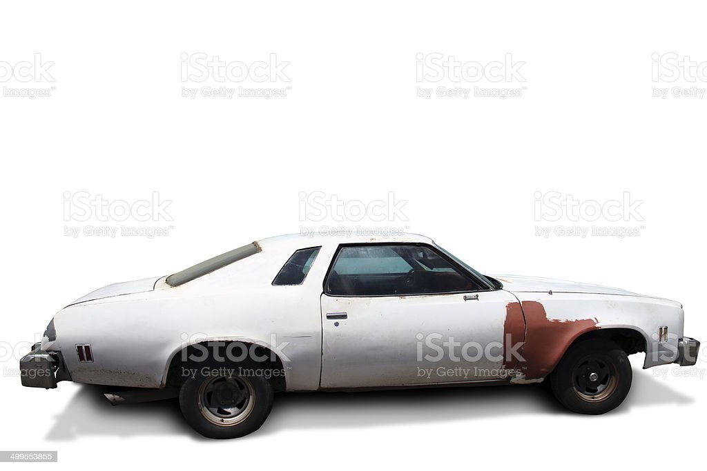 Vintage car stock photo