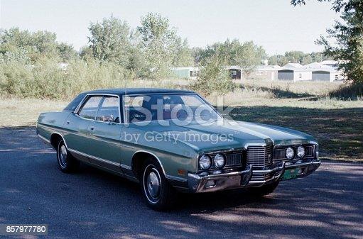 istock Vintage car 857977780