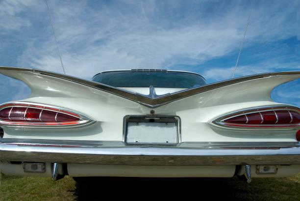 Vintage Auto -rear Blick – Foto