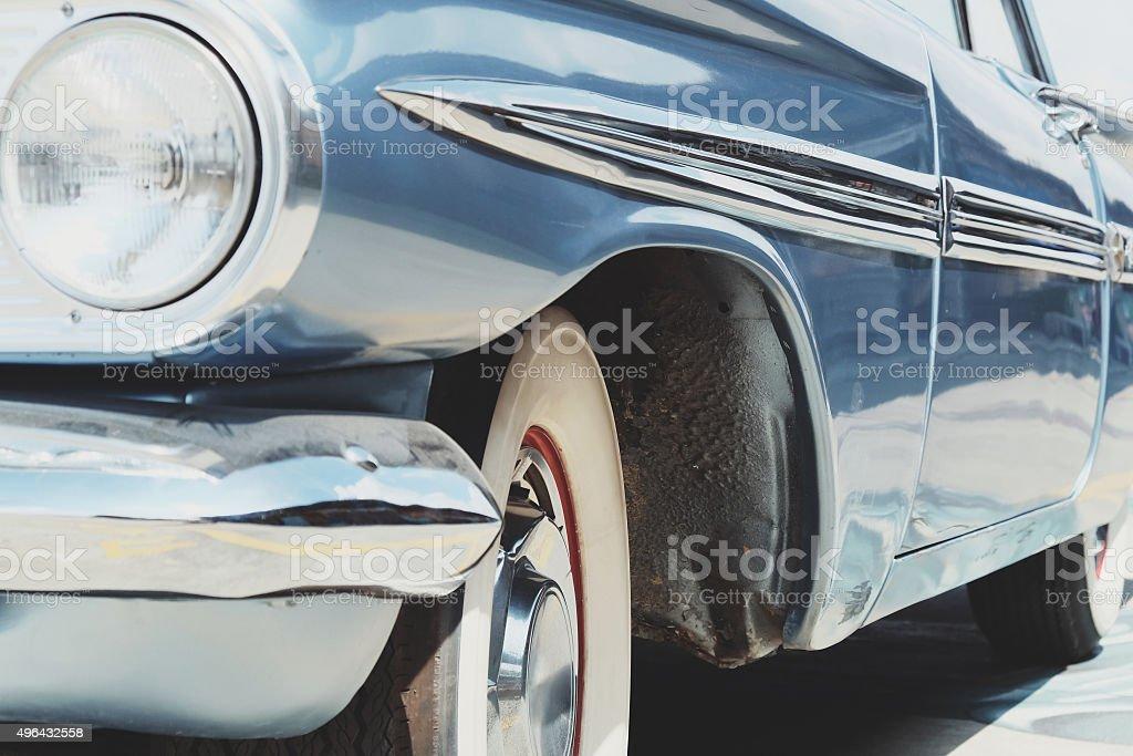 Vintage Car Side stock photo