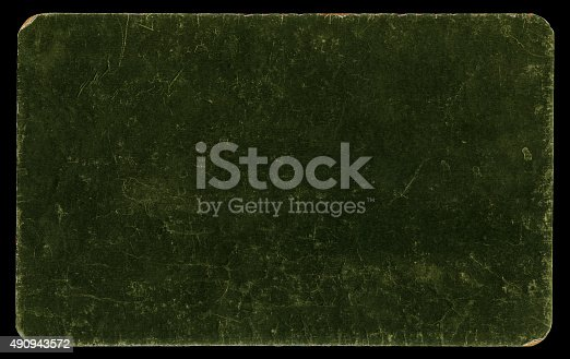 istock Vintage cardboard isolated with clipping path 490943572