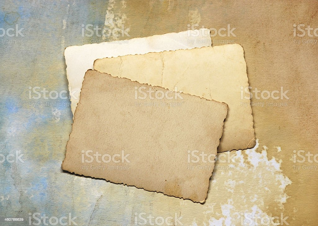 vintage cards royalty-free stock photo