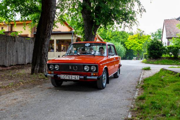 Vintage Cars - Hungary stock photo