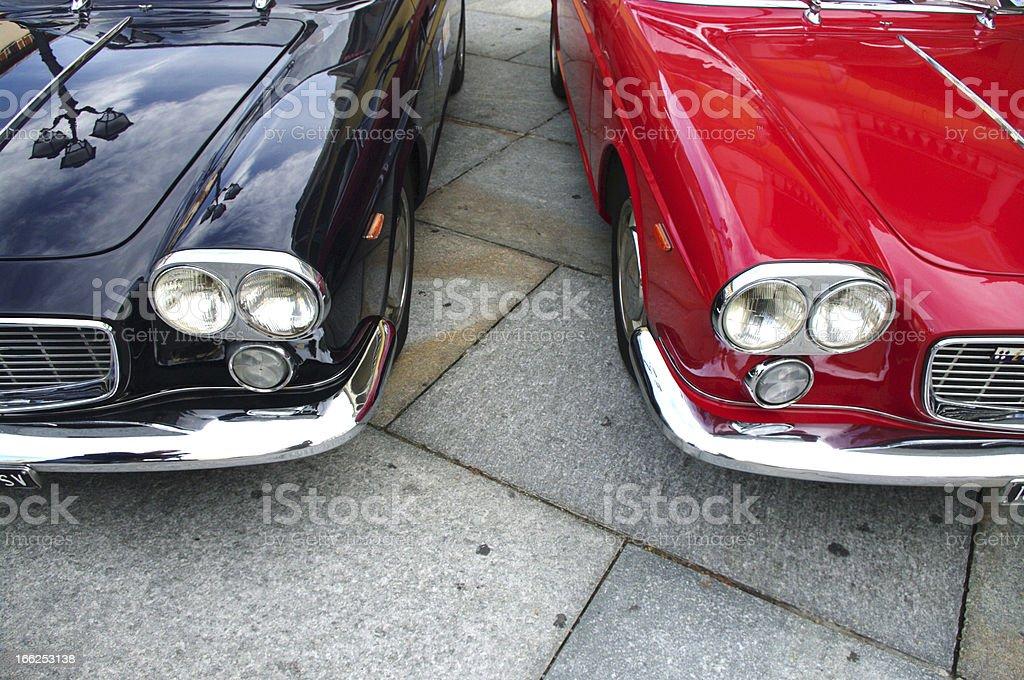 Vintage cars royalty-free stock photo