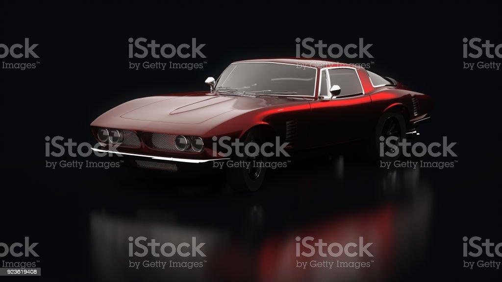 Vintage cars stock photo