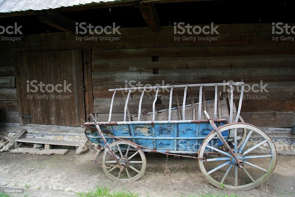 Vintage cart royalty-free stock photo