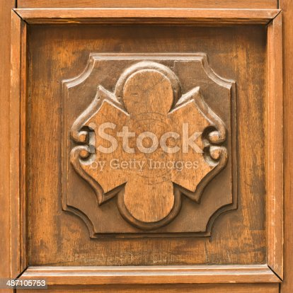 1058533662 istock photo Vintage carving 487105753
