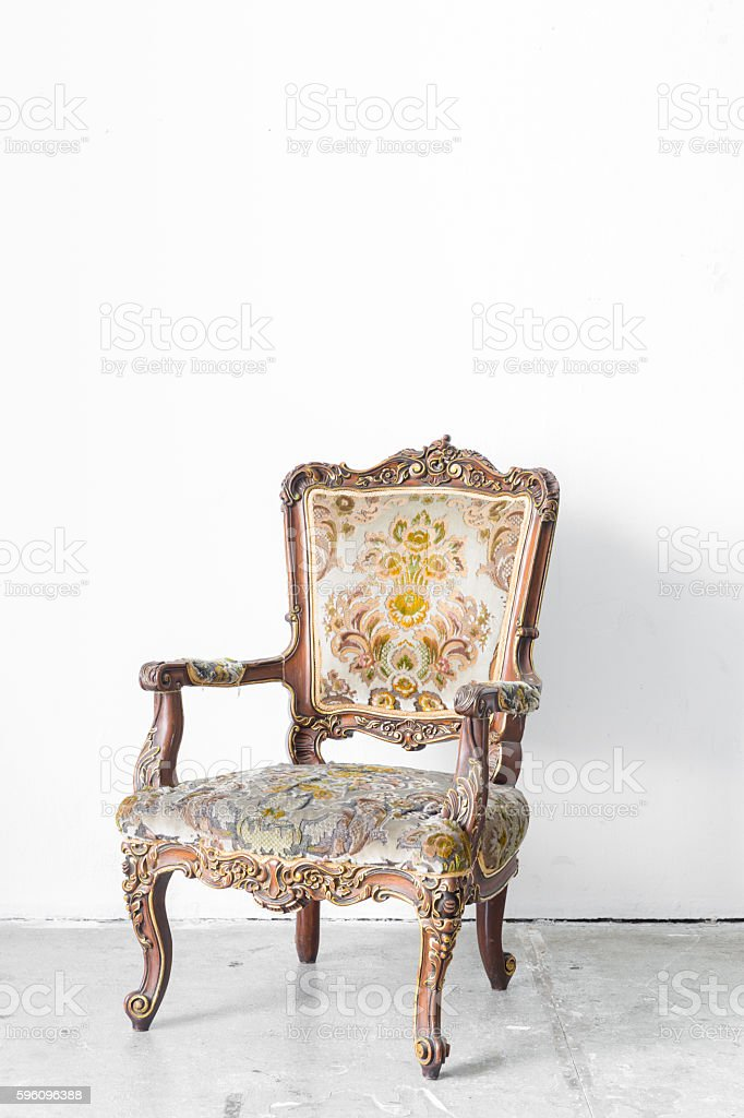 Vintage Chair royalty-free stock photo