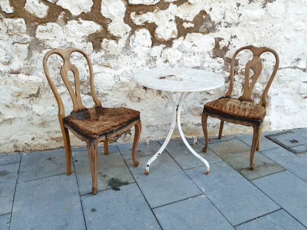 Vintage sillas - foto de stock