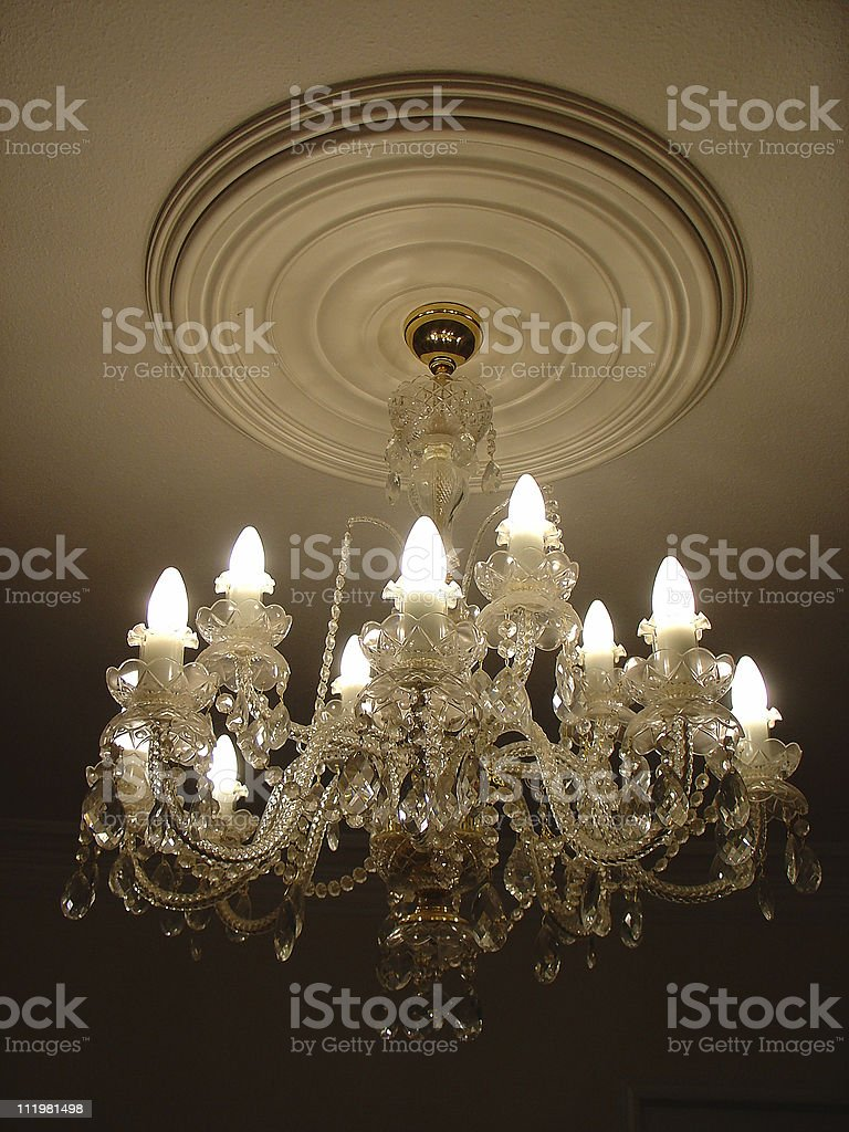 Vintage Chandelier royalty-free stock photo