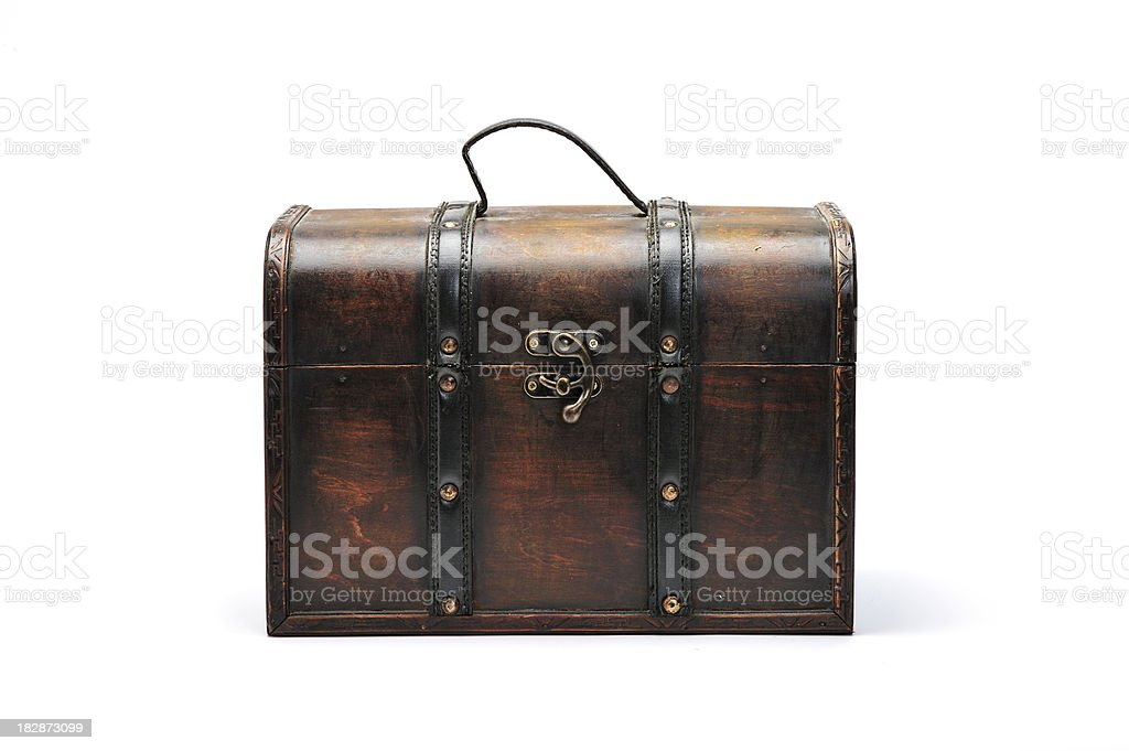 vintage chest royalty-free stock photo