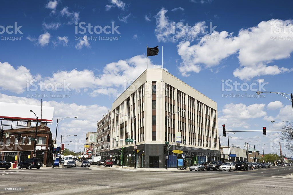 Vintage Chicago Store royalty-free stock photo