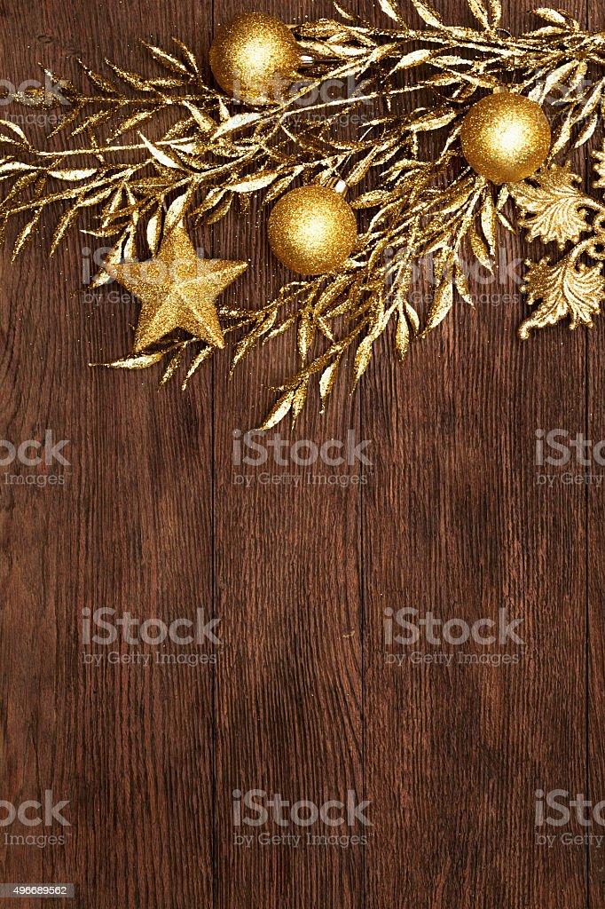 Vintage christmas background stock photo