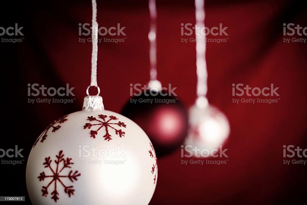 Vintage Christmas Ornaments (XXL) royalty-free stock photo