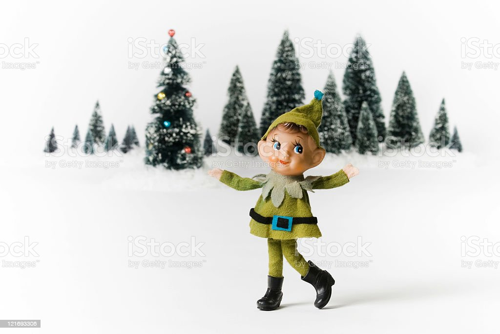 Vintage Christmas stock photo