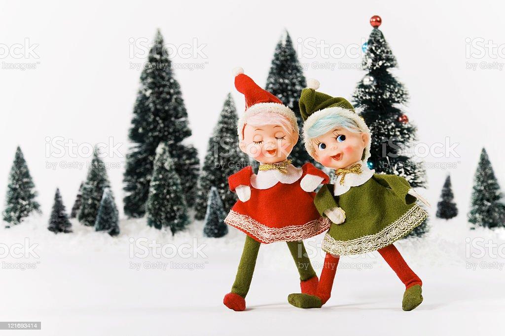 Vintage Christmas royalty-free stock photo