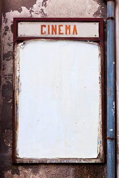 vintage cinema billboard - italy poster bildbanksfoton och bilder
