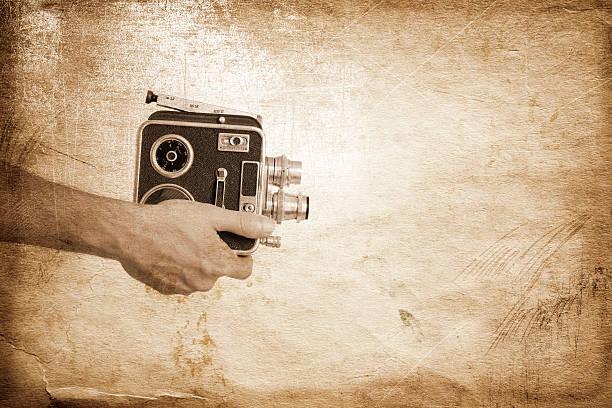 vintage cinematograph stock photo
