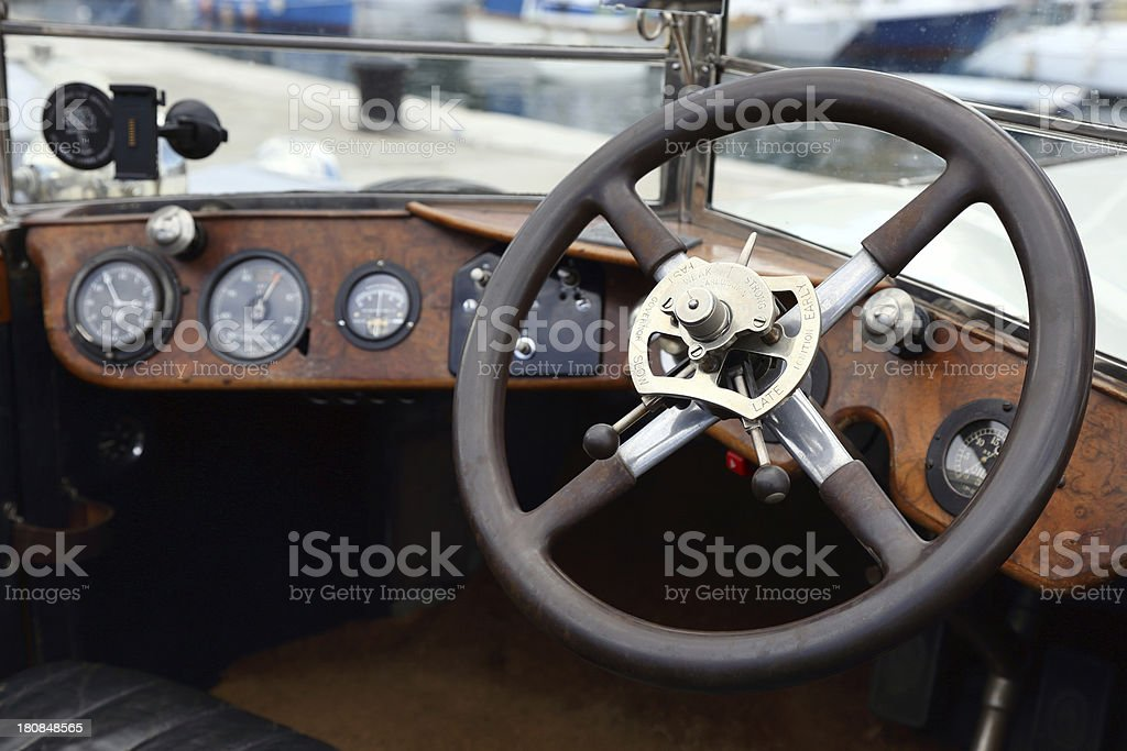 Vintage Classic Rolls Royce Interior Stock Photo & More Pictures ...