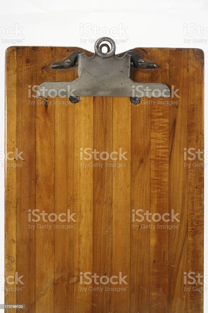 Vintage Clipboard royalty-free stock photo