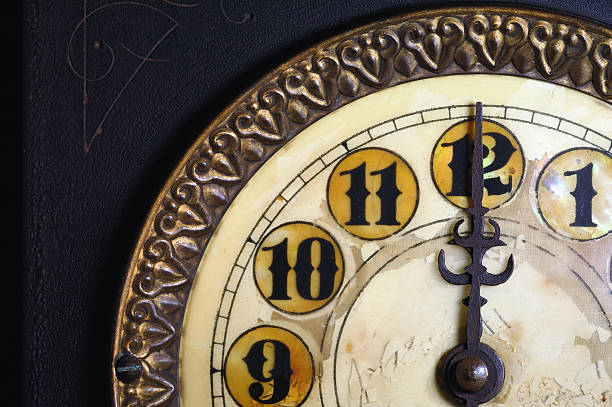 Vintage clock striking 12 picture id114316489?b=1&k=6&m=114316489&s=612x612&w=0&h=d9pagph8nnpsatdr cegdnh8dfejp 4vde 70tq81ru=