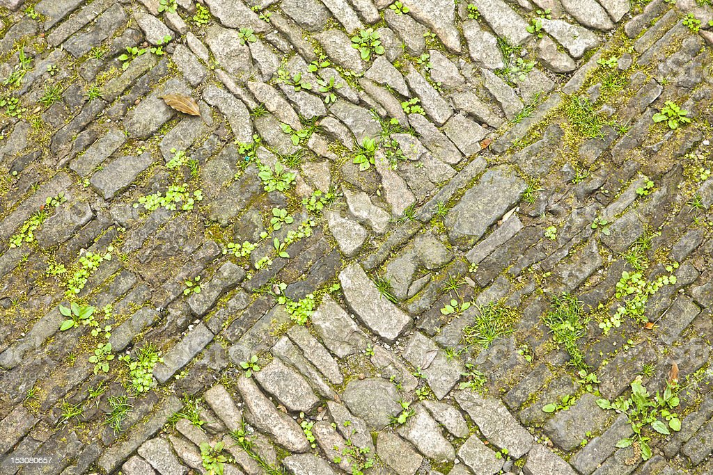 Vintage Cobble stones royalty-free stock photo