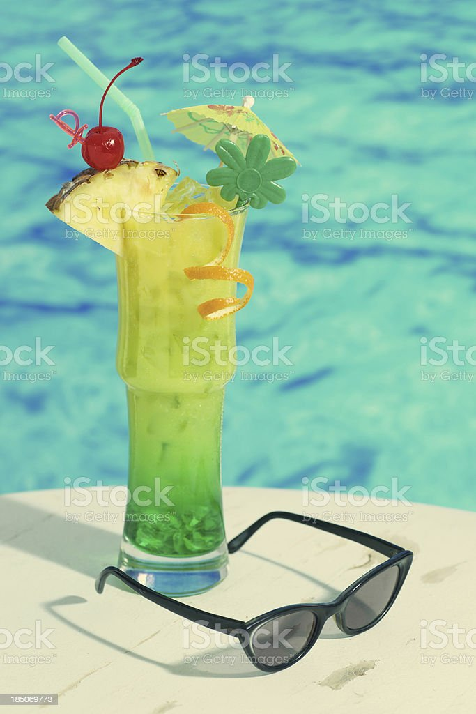 Vintage Cocktail royalty-free stock photo