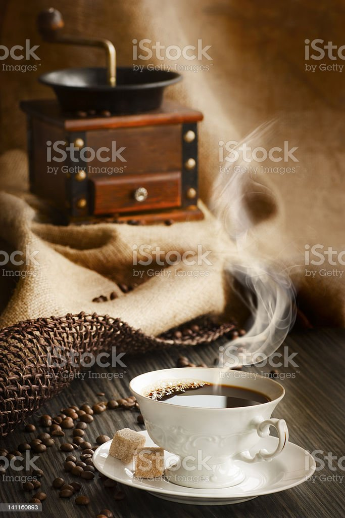 Vintage coffee royalty-free stock photo
