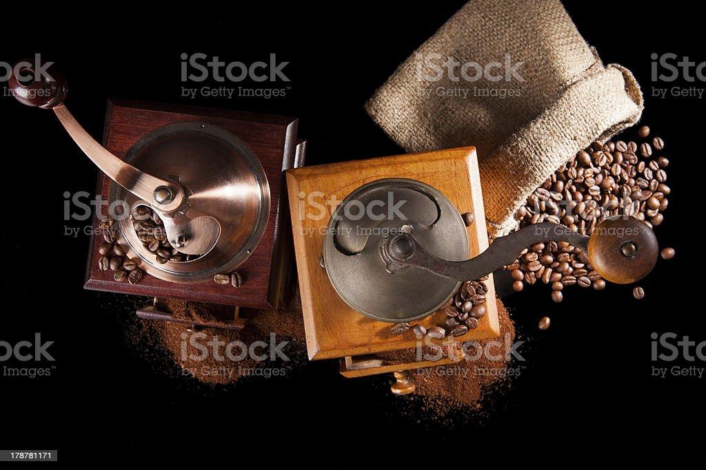 Vintage coffee still life. royalty-free stock photo
