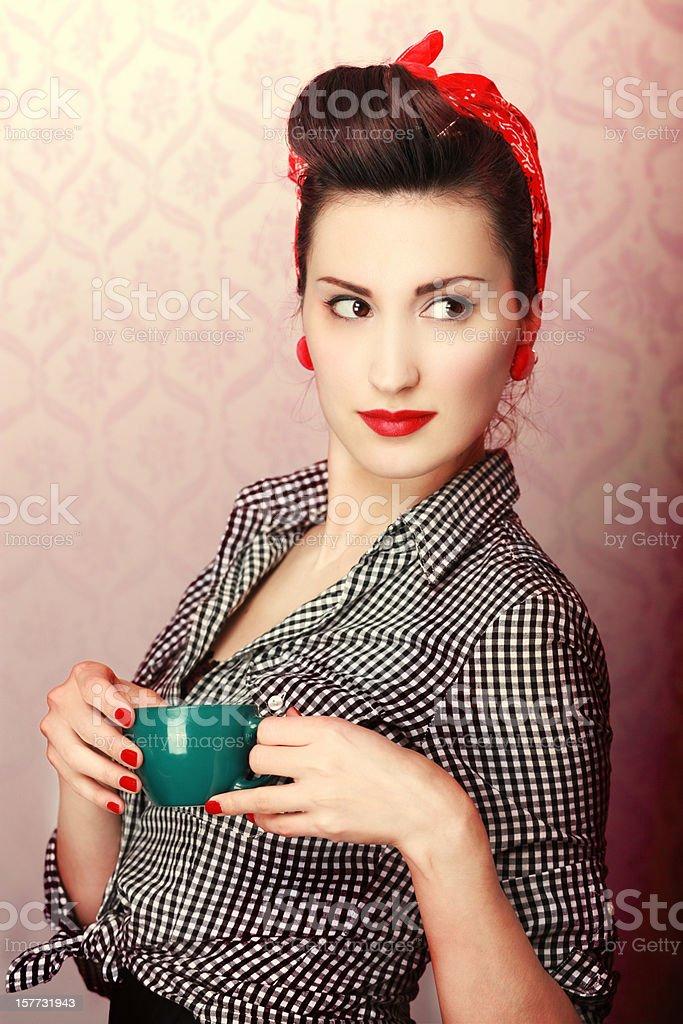 Vintage Coffee Time stock photo