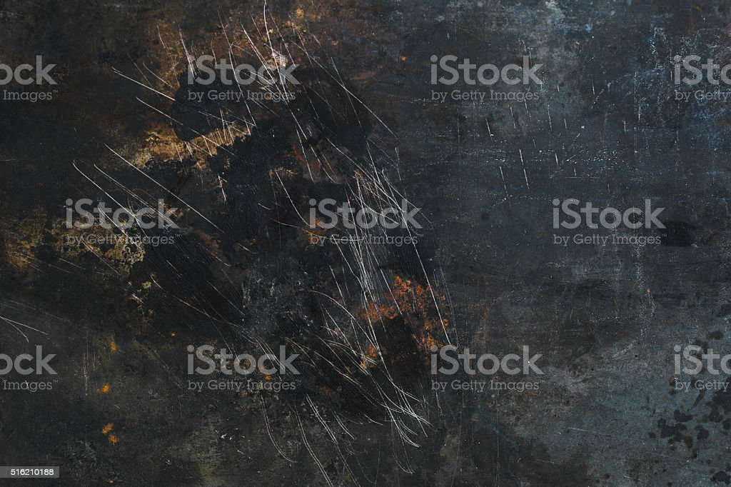 vintage colored grunge iron textured background stock photo
