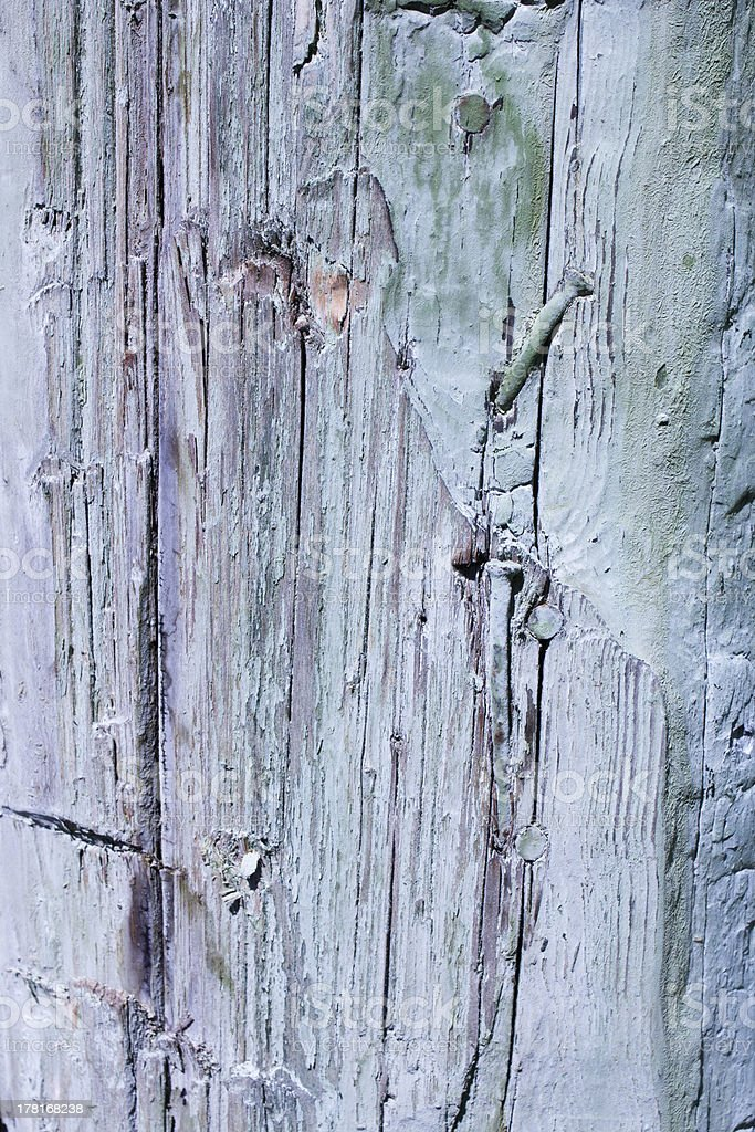 Vintage colorful  background of natural wood royalty-free stock photo