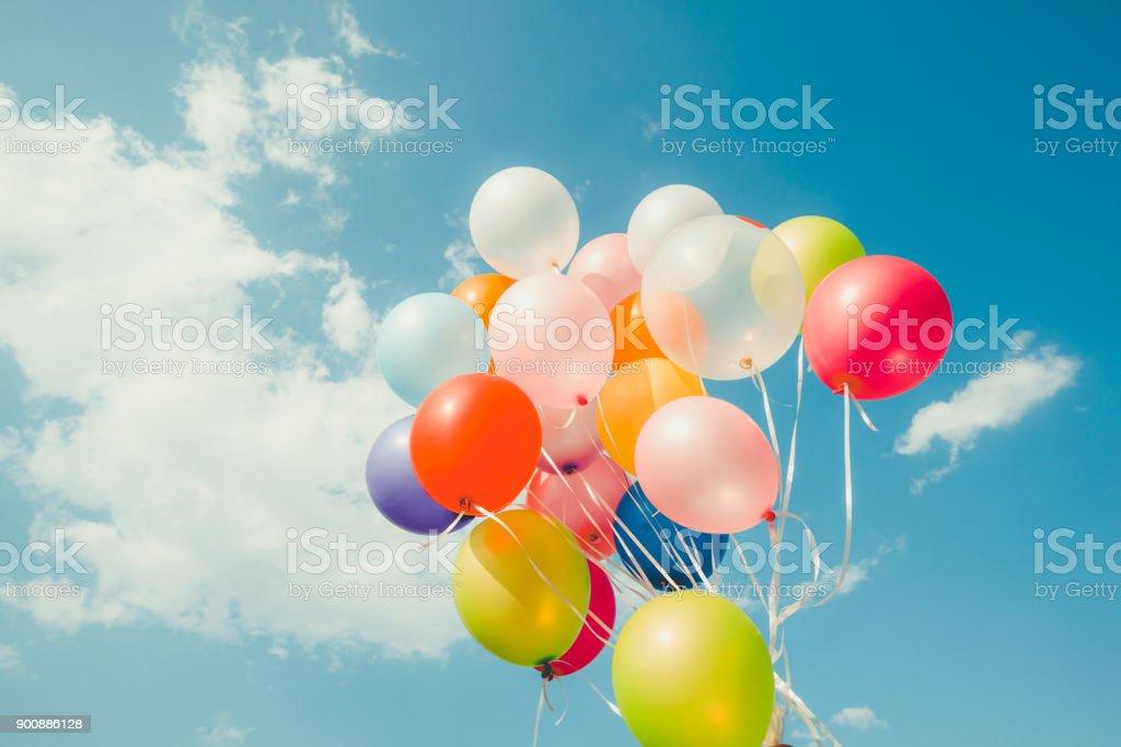 Vintage bunten Ballon – Foto