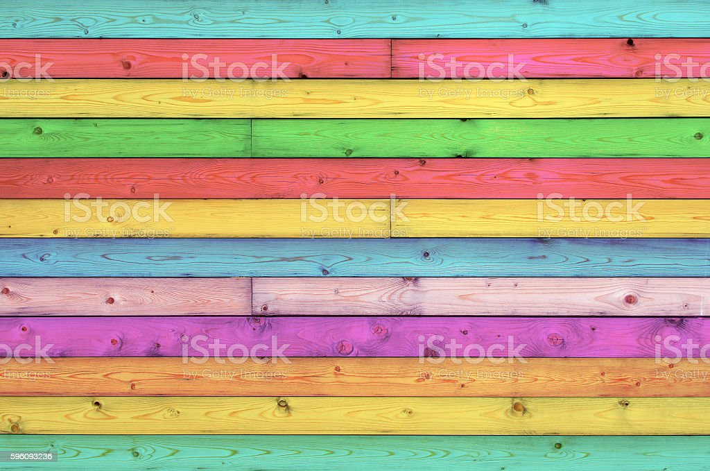 Vintage colorful wood background royalty-free stock photo